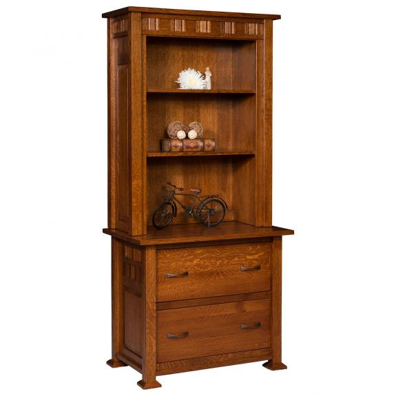 KS372231 Keystone Lateral File Cabinet with Hutch