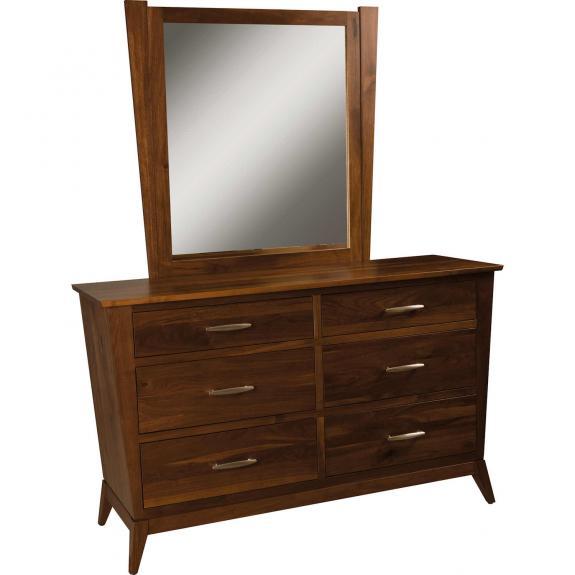 Metro Bedroom Furniture Collection 1016 6 Drawer Dresser