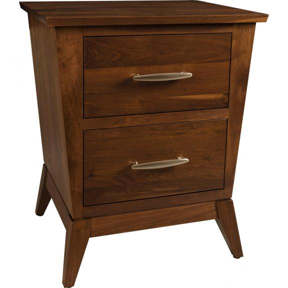 Metro Bedroom Furniture Collection 1016 2 Drawer Nightstand