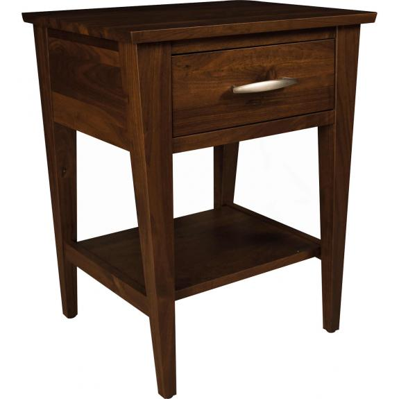Metro Bedroom Furniture Collection 1016 1 Drawer Nightstand