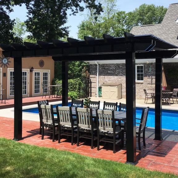 Poly Outdoor Dining Set