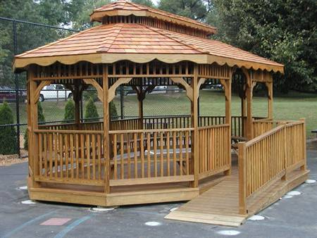 Gazebo for Local School