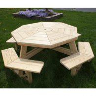 Wood Picnic Tables
