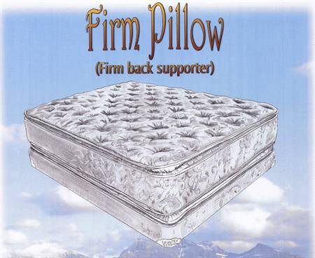 firm pillow top two sided mattress clear creek amish furniture waynesville oh. Black Bedroom Furniture Sets. Home Design Ideas