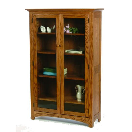 I-3660C Prairie Bookcase with Glass Doors