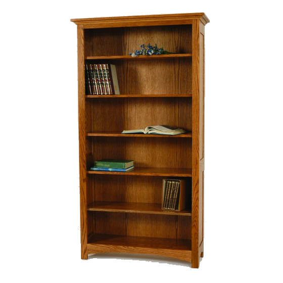 I-3672A Prairie Open Bookcase
