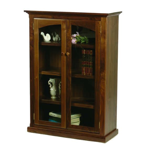 S-3248C Bookcase with Glass Doors