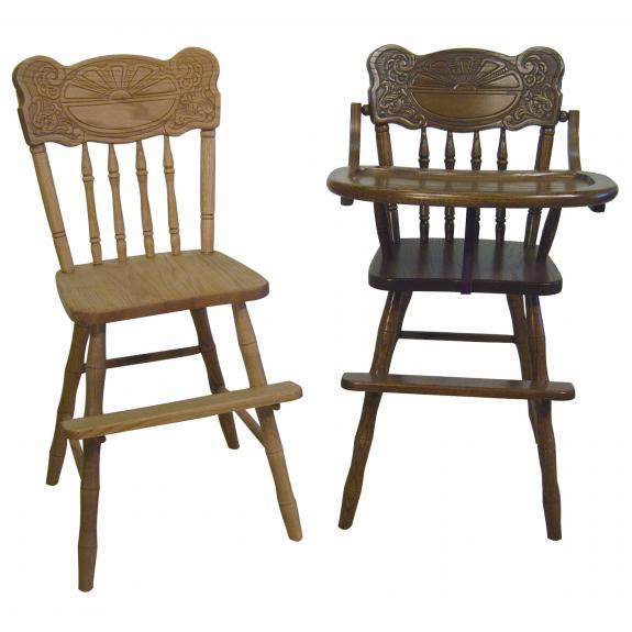 Sunburst High Chair and Youth Chair