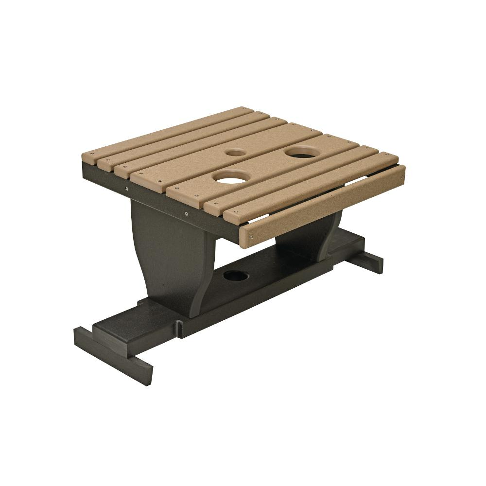 Gliding Footstool, Poly
