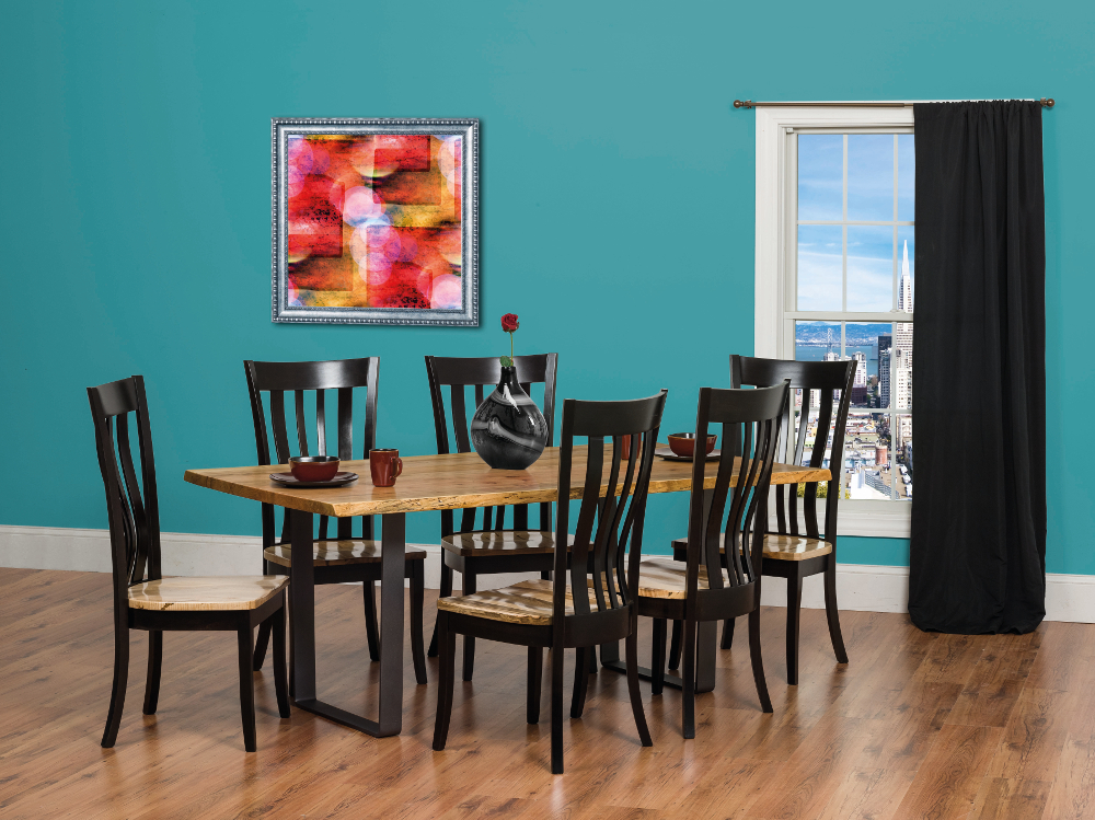Andrea's Live Edge Dining Set