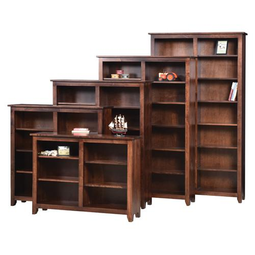 MM-4884 Modern mission bookcases