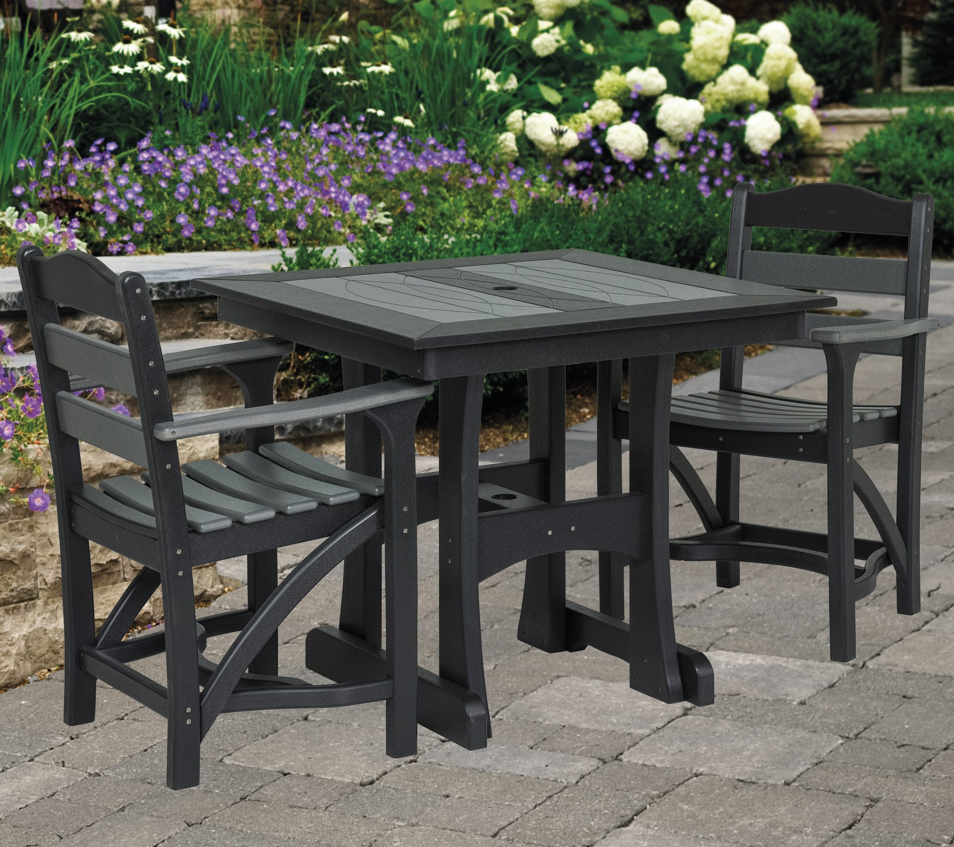 Amish Poly Outdoor Dining Tables for Sale