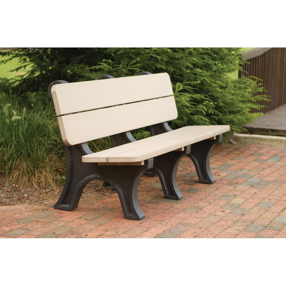 Bench, Park Model, Poly