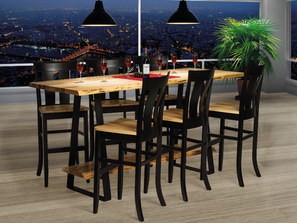 Natalie Live Edge Bar Dining Collection