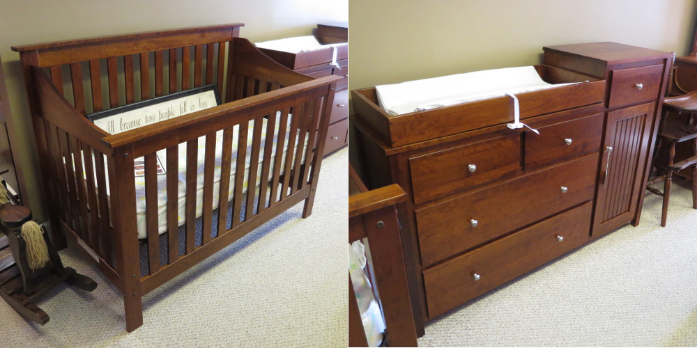 Convertible Crib and Changing Table Special!