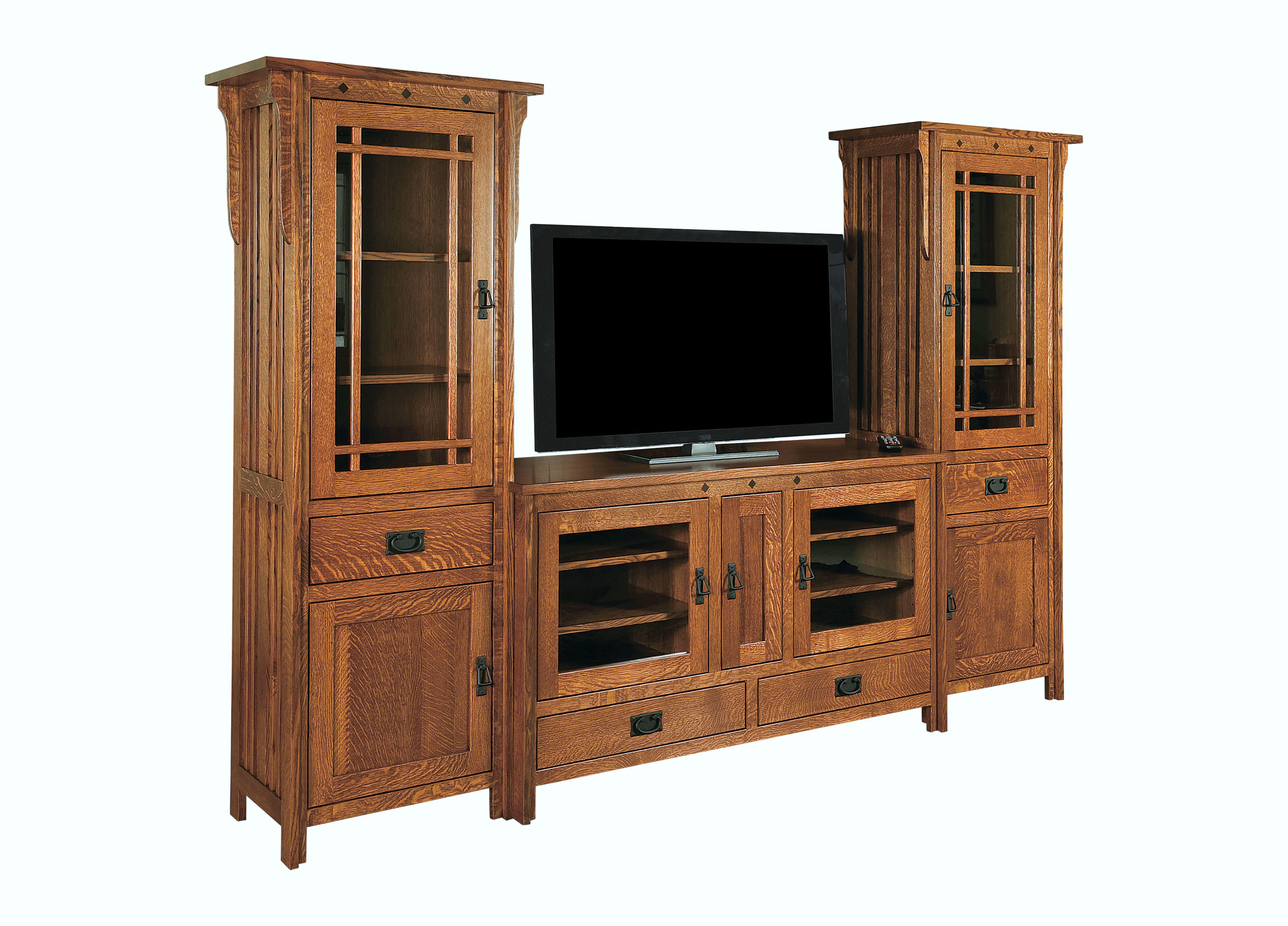 Royal Mission TV Console & Towers