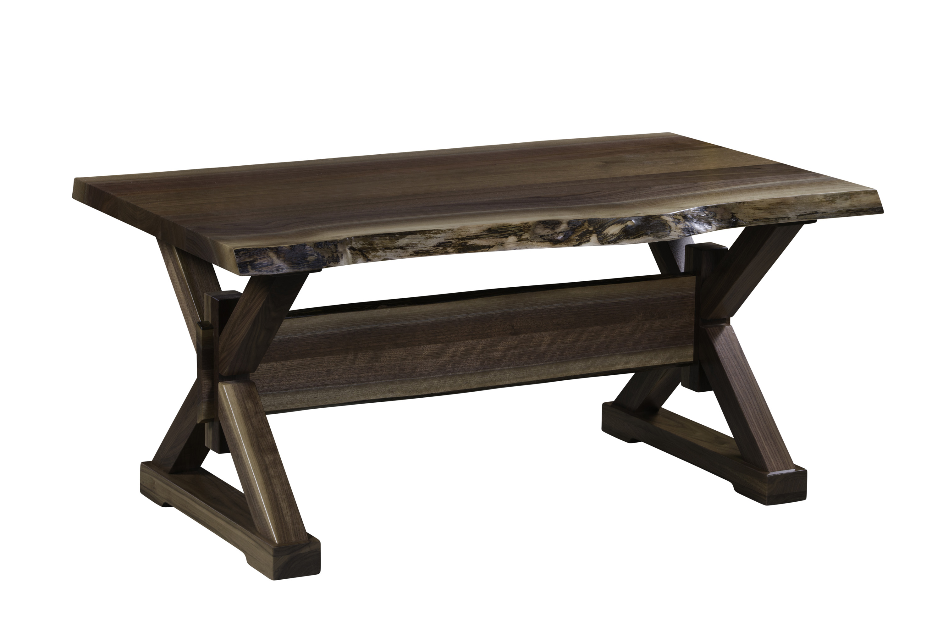 Remington Live Edge Occasional Coffee Table