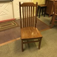 Your mission chair in cherry