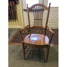 Your Sheafback arm chair in cherry