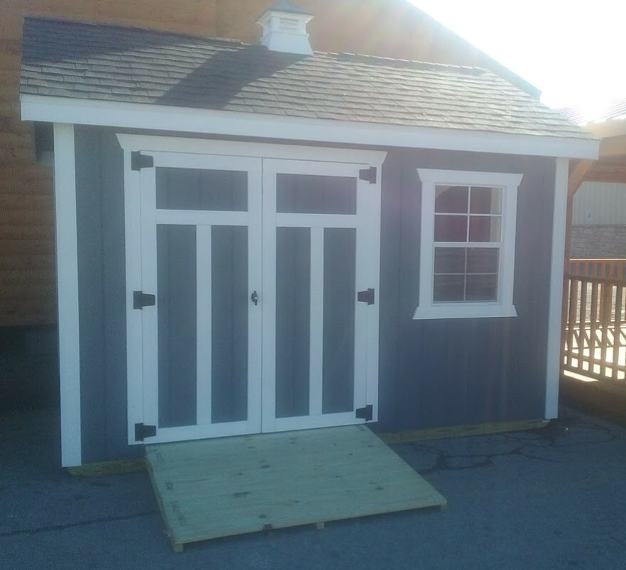 Shed, 10X12 A-Frame Storage Barn, In Stock